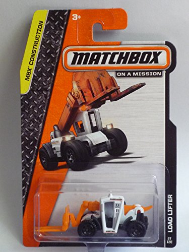 "MATCHBOX ""On a Mission"" - 2014 ""MBX Construction"" Series #27/120 Load Lifter (White) - 1"