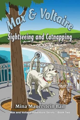 Max and Voltaire Sightseeing and Catnapping
