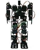 Gowe® 17DOF Biped Robotic Educational Robot Kit Servo Bracket Ball Bearing Black