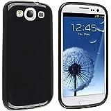 Black Soft Flexible TPU Gel Case Skin Cover for the Samsung© i9300 Galaxy S3 S III