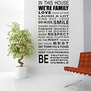 Wall Stickers Lettering Word Wall Art Decor For Living Room Kids Bed