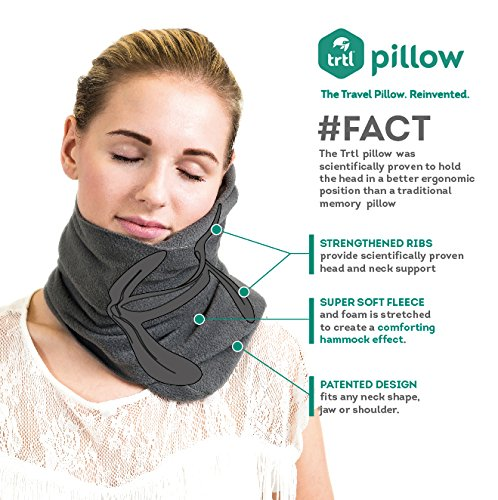 trtl u2013 super soft neck support travel pillow