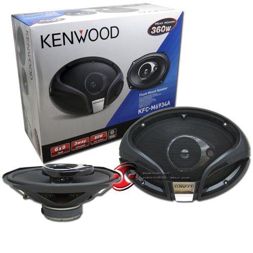 "Kenwood Kfc-M6934A 6X9-Inch 6 X 9"" 3-Way Car Audio Speakers (Pair)"