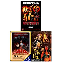 Wild Eye Limited Edition Vhs Bundle (Three Movie S