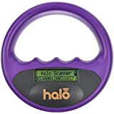 Halo Pet Microchip Reader Scanner, Purple
