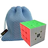 GoodPlay YJ Yulong Stickerless Smooth 3x3x3 Speed Cube Puzzle(+one customized cube bag)