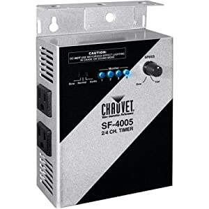 Chauvet SF-4005 2/4 Channel Timer