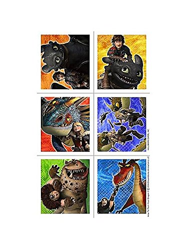 How to Train Your Dragon 2 - Sticker Sheets (4) - 1