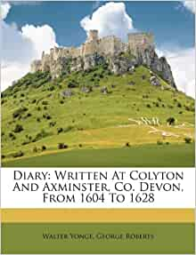Amazon.com: Diary: Written At Colyton And Axminster, Co ...