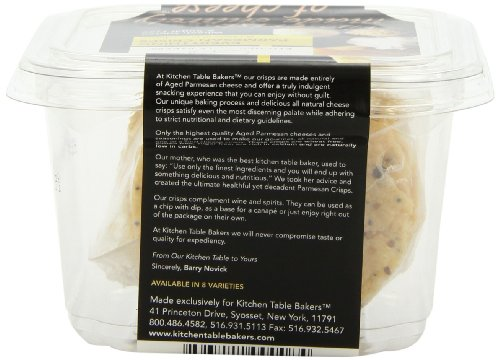 Kitchen Table Bakers Everything Parmesan Parmesan Crisps 3 Ounce Packages Pack Of 4 Food