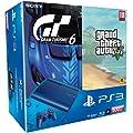 Console PS3 500 Go bleue + Gran Turismo 6 + GTA V