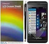 iBPM Blackberry Z10 Screen Protector 10 Pack Plus Free Capacative Stylus