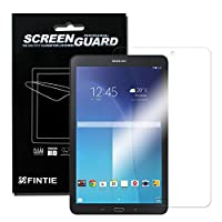 Fintie Samsung Galaxy Tab E 9.6 Ultra-Clear HD Screen Protector (3-Pack With Retail Packaging) - High Definition Invisible Protective Screen Film [Lifetime Replacement Warranty] from Fintie
