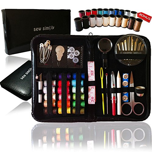 For Sale! SEWING KIT, 38 Spools of Thread - FREE Extra 20 Most Useful Colors of Threads - Mini Trave...