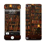 Apple iPod Touch 5th Gen Decalgirl skin - Library Bookshelves - High quality precision engineered skin sticker for the iPod Touch 5 / 5g / 5th generation (16gb / 32gb / 64gb) latest model launched in 2012 / 2013