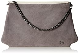 Halston Heritage Large Convertible Clutch, Gravel Multi, One Size