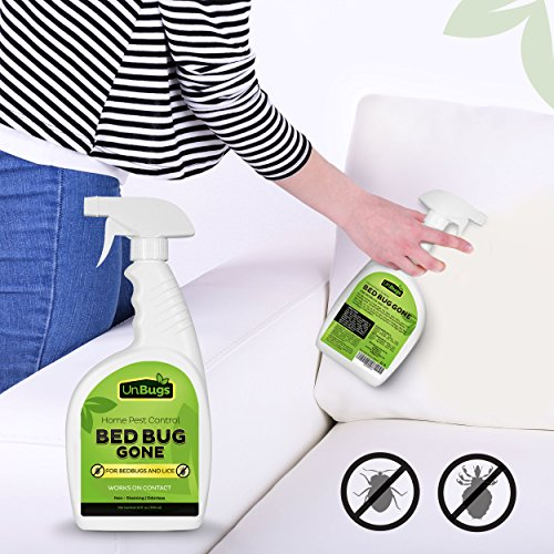 Unbugs Bed Bug Spray Killer Pest Control Treatment