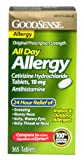 Good Sense All Day Allergy Cetirizine Hydrochloride Tablets, 10 mg, 365 Count