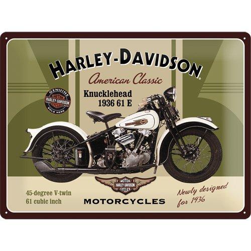 harley-davidson-plaque-en-metal-knucklehead-40-x-30-cm