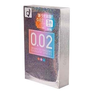 【OKAMOTO CONDOMS 0.02 EX】 オカモト コンドームズ 0.02 EX カラー 1箱6個入