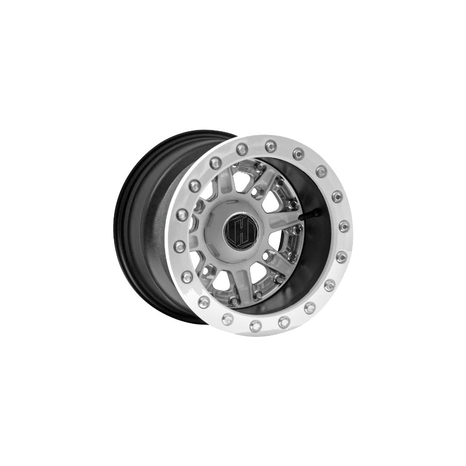 Hiper Wheel Sidewinder 2 Wheels   12x10   5+5 Offset   4/136,4/137   White , Position Front/Rear, Wheel Rim Size 12x10, Rim Offset 5+5, Bolt Pattern 4/136,4/137, Color White 1210 KCAWT 55 SBL WT