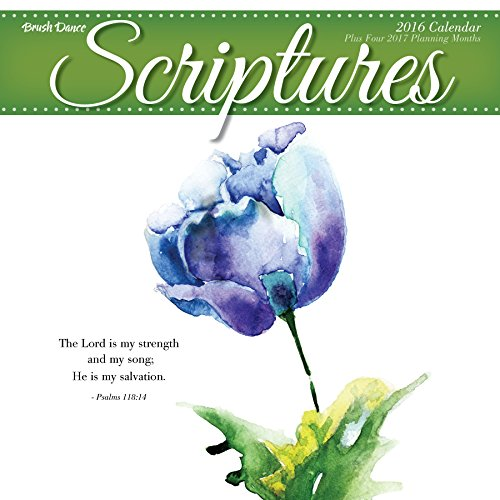 2016 Scriptures Wall Calendar (Details Us March 2015 compare prices)