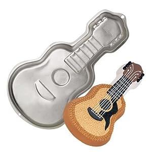 originales moldes para tartas guitarra