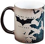 Morphing Mugs Batman Dark Knight Trilogy (Batman Bats) Ceramic Mug, Black