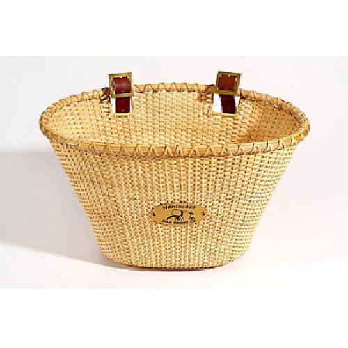Nantucket Bicycle Basket Company Lightship-Adult Oval-Natural
