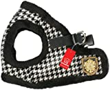Puppia Authentic Downtown Harness B, Small, Black