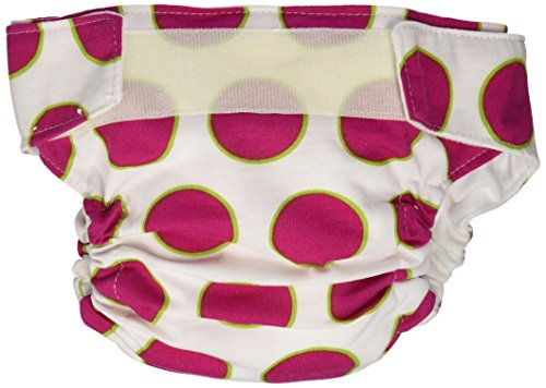 CuteyBaby That's a Wrap and Super Duper Soaker Insert, Big Pink Dot