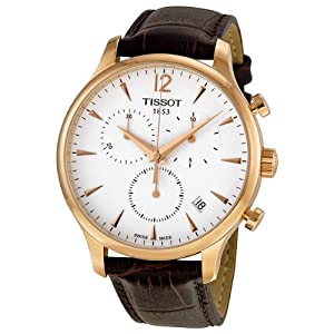 Tissot Tradition Classic Chronograph Rose Gold-plated Mens Watch T0636173603700