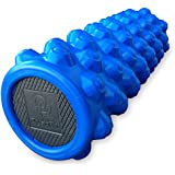 Best Exercise Foam Roller: PhysioPhit High Density, Extra Firm Foam Roller with Trigger Points for Deep Tissue Muscle Massage