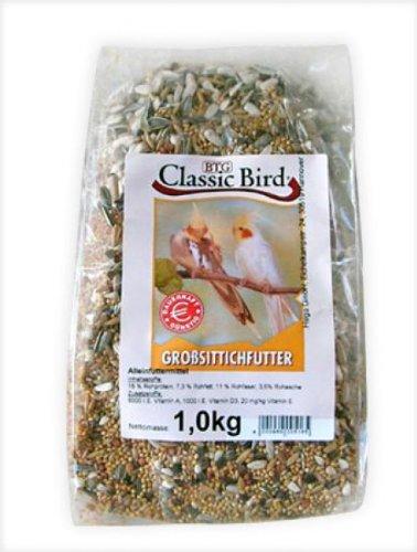Classic Bird Großsittichfutter Eimer, 1er Pack