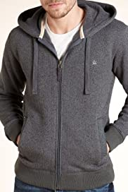 North Coast Zip Through Hooded Fleece Jacket [T28-2219N-S]