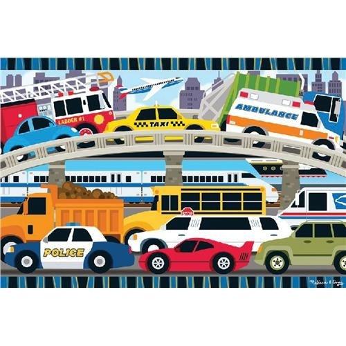 Transportation Floor Puzzle