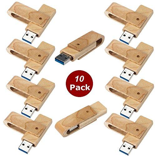 a-plus-10-stuck-einklappbarer-16gb-holzern-usb-flash-laufwerk-drehen-usb-sticks-flash-drive-10er-pac