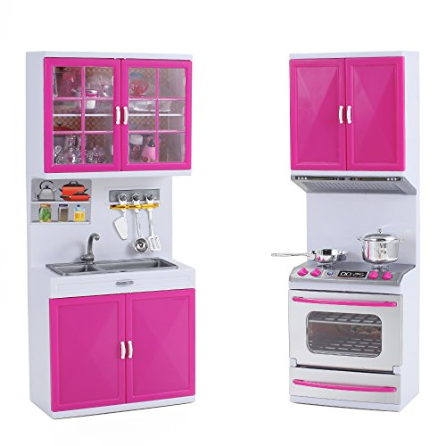 My modern kitchen mini toy playset w lights and sounds for Perfect kitchen description