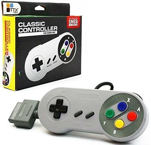 BRAND NEW TTX Tech Classic Controller for SNES and Retro-Duo Color (Super Tennis Snes compare prices)