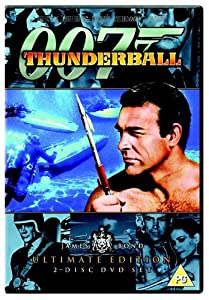 James Bond - Thunderball (Ultimate Edition 2 Disc Set)  [DVD] [1965]