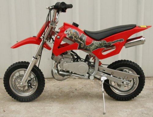 Db49a Red 49cc 50cc 2 Stroke Gas Motor Mini Dirt Pit