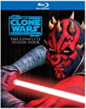 Star Wars: The Clone Wars - The Complete Season Four [Blu-ray]