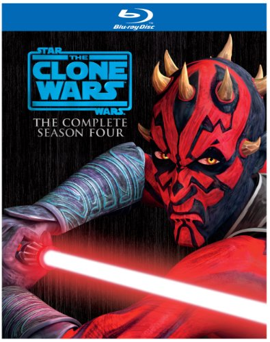 Star Wars: The Clone Wars - Season Four [Blu-ray].