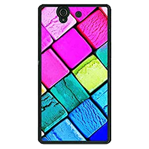 Jugaaduu Colours Back Cover Case For Sony Xperia Z