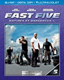 Fast Five (Extended Edition) (Blu-ray + Digital Copy + UltraViolet) (Bilingual)