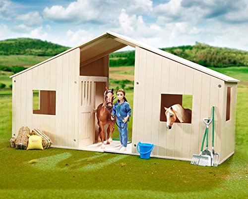 breyer-hilltop-stable-solid-hardwood-stall-2-pack