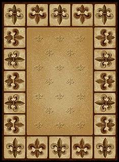 Fleur De Lis Carpet Sr Runner - Carpet Vidalondon