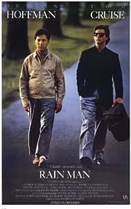 Rain Man Movie Poster (11 x 17 Inches - 28cm x 44cm) (1988) Style A -(Dustin Hoffman)(Tom Cruise)(Valeria Golino)(Jerry Molen)(Jack Murdock)(Michael D. Roberts)