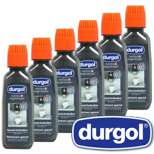 Shop for Durgol Swiss Espresso Special Decalcifier, Pack of 3, 6 x 125 ml by Durgol swiss Espresso