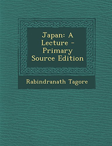 Japan: A Lecture - Primary Source Edition